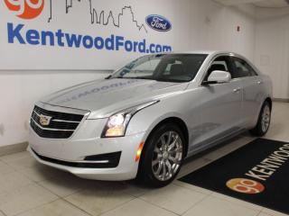 Used 2018 Cadillac ATS Sedan Luxury   AWD   Heated Leather   NAV   One Owner   No Accidents for sale in Edmonton, AB