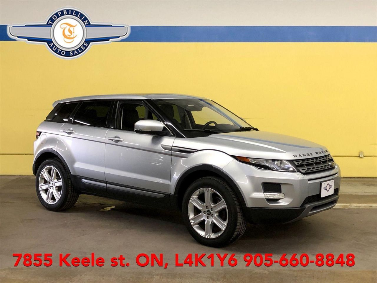 2013 Land Rover Range Rover Evoque Pure Plus AWD, Panoramic Roof, 2 Years Warranty