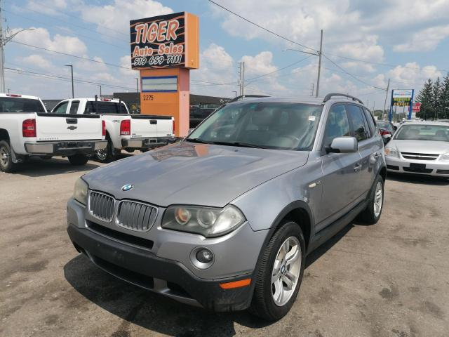 2007 BMW X3 3.0I*LEATHER*ROOF*RUNS WELL*AWD*AS IS SPECIAL