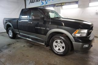 Used 2011 Dodge Ram 1500 OUTDOORSMAN HEMI CERTIFIED 2YR WARRANTY *1 OWNER*FREE ACCIDENT* BLUETOOTH CRUISE RUNNING BOARDS for sale in Milton, ON