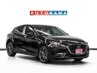 Used 2017 Mazda MAZDA3 Sport GT Nav Leather Sunroof Backup Camera for sale in Toronto, ON