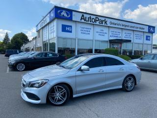 Used 2017 Mercedes-Benz CLA-Class 250 SUNROOF | NAV | REAR CAMERA | LEATHER SEATS | for sale in Brampton, ON