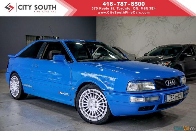 1991 Audi Quattro Quattro Coupe