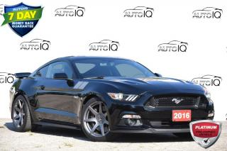 Used 2016 Ford Mustang ACCIDENT FREE | 5.0L V8 | MANUAL | GT for sale in Kitchener, ON