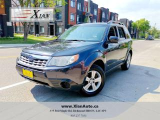 Used 2012 Subaru Forester X for sale in Richmond Hill, ON