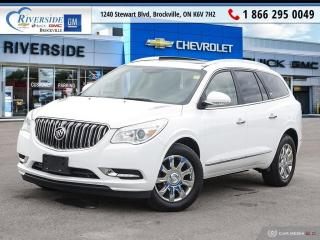 Used 2017 Buick Enclave Leather for sale in Brockville, ON