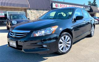 Used 2011 Honda Accord 4dr V6 Auto EX sunroof low km no accident safety for sale in Oakville, ON