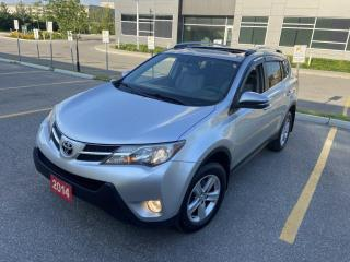 Used 2014 Toyota RAV4 XLE, Sunroof, Backup Camera, 3/Y Warranty Availabl for sale in Toronto, ON