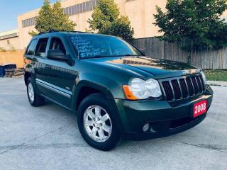 Used 2008 Jeep Grand Cherokee Limited, Diesel, Low KM, 4X4, Leather, Sunroof for sale in Toronto, ON