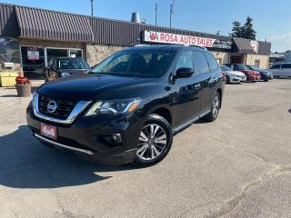 Used 2017 Nissan Pathfinder 4WD 4dr SV 7SEATS SAFETY NO ACCIDENT NEW BRAKES for sale in Oakville, ON