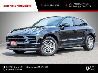Used 2019 Porsche Macan S NO ACCIDENTS NAV CAM ROOF CARPLAY for sale in Mississauga, ON
