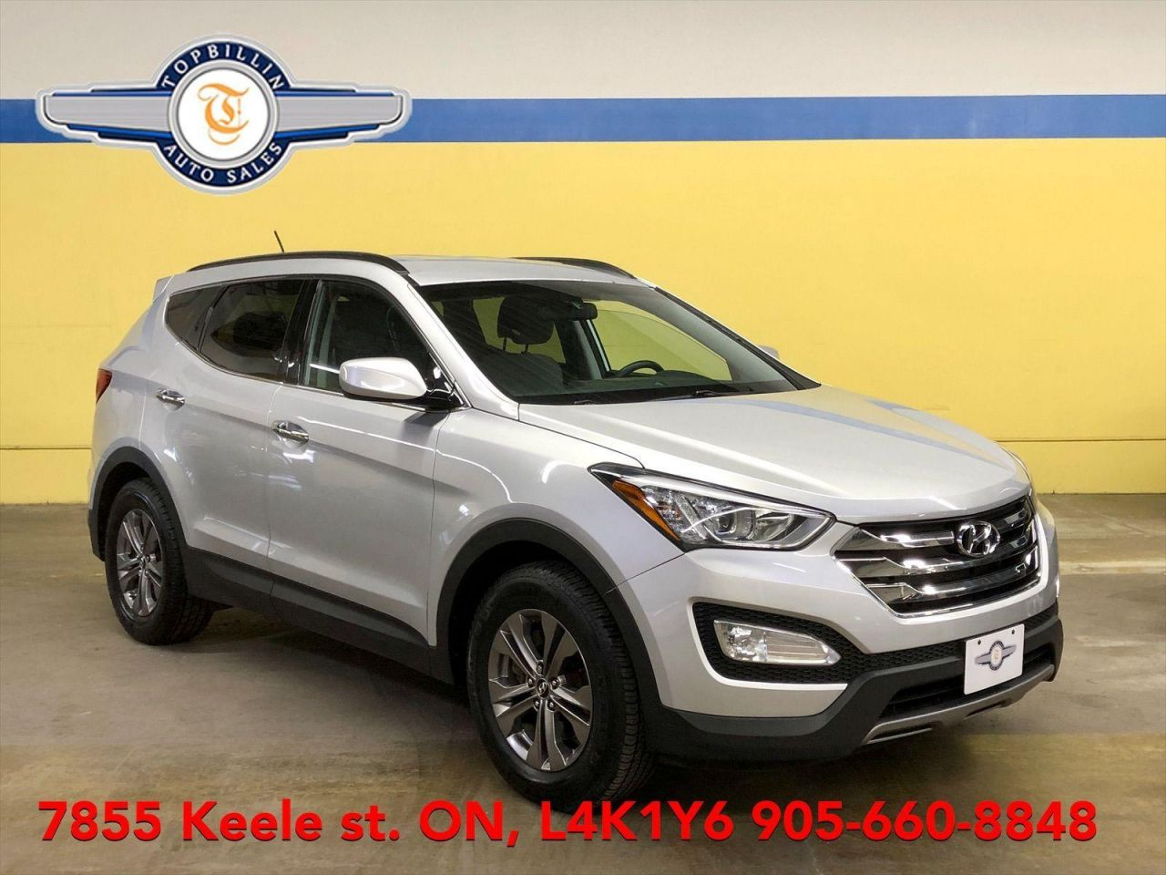 2013 Hyundai Santa Fe Only 80K Km, 2 Years Warranty, Bluetooth
