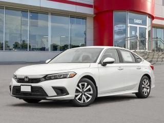 New 2022 Honda Civic LX for sale in Winnipeg, MB