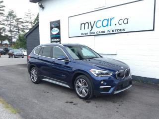 Used 2017 BMW X1 xDrive28i LEATHER. HEATED SEATS. BLUETOOTH. AMAZING BUY!!!! for sale in Richmond, ON