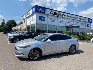 Used 2017 Ford Fusion SUNROOF | NAV | HEATED SEATS | REAR CAMERA | for sale in Brampton, ON