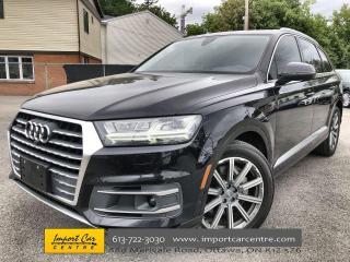 Used 2019 Audi Q7 55 Technik DRIVER'S ASSIST  HUD  BOSE SOUND  NAVI for sale in Ottawa, ON