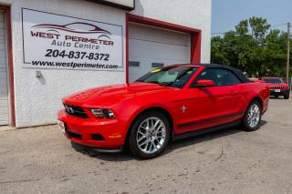 Used 2012 Ford Mustang V6 Premium * Power Convertible Top * Rousch Exhau for sale in Winnipeg, MB