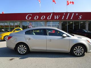 Used 2014 Buick LaCrosse FACTORY AUTO START! POWER SEAT! for sale in Aylmer, ON
