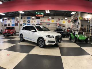 Used 2017 Audi Q7 3.0 AUTO 7PASS AWD NAVI LEATHER PAN/ROOF CAMERA for sale in North York, ON