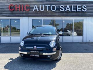 Used 2012 Fiat 500 C LOUNGE | CONVERTIBLE | RED LEATHER for sale in Richmond Hill, ON