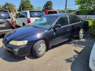 Used 2001 Honda Accord 4dr Sdn EX Auto V6 for sale in North York, ON