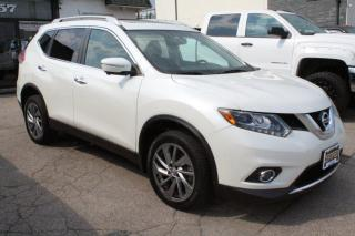 Used 2015 Nissan Rogue SL AWD Leather Nav blind spot pano roof back cam p for sale in Mississauga, ON