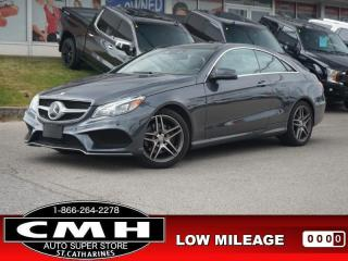 Used 2016 Mercedes-Benz E-Class E 400 4MATIC  NAV ROOF LEATH 18-AL for sale in St. Catharines, ON