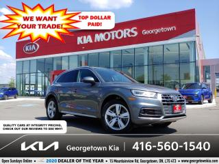 Used 2018 Audi Q5 Technik | LTHR | NAV | PANO ROOF | HTD SEATS | B/T for sale in Georgetown, ON