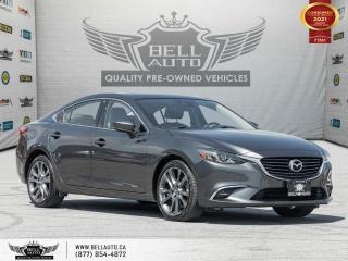 Used 2017 Mazda MAZDA6 GT, Navi, RearCam, SunRoof, NoAccident, B.spot, Bluetooth for sale in Toronto, ON