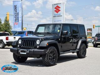 Used 2015 Jeep Wrangler Sport 4x4 ~Bluetooth ~Power Windows + Locks ~A/C for sale in Barrie, ON