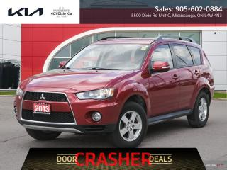 Used 2013 Mitsubishi Outlander LS CERTIFIED // 4X4 // REVERSE CAM for sale in Mississauga, ON