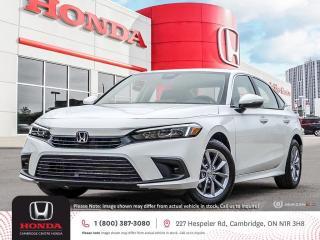 New 2022 Honda Civic EX POWER SUNROOF | APPLE CARPLAY™ & ANDROID AUTO™ | HONDA SENSING TECHNOLOGIES for sale in Cambridge, ON