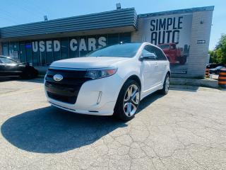 Used 2013 Ford Edge SPORT for sale in Barrie, ON