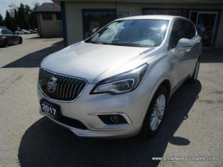 Used 2017 Buick Envision ALL-WHEEL DRIVE PREFERRED EDITION 5 PASSENGER 2.5L - DOHC.. HEATED SEATS.. TOUCH SCREEN DISPLAY.. BACK-UP CAMERA.. BLUETOOTH SYSTEM.. for sale in Bradford, ON