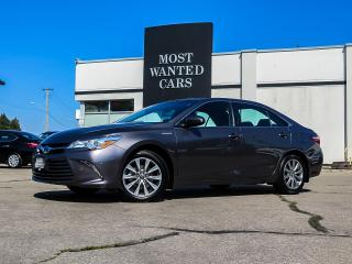 Used 2017 Toyota Camry HYBRID XLE | NAVIGATION | LEATHER | SUNROOF | JBL AUDIO | CAMERA for sale in Kitchener, ON