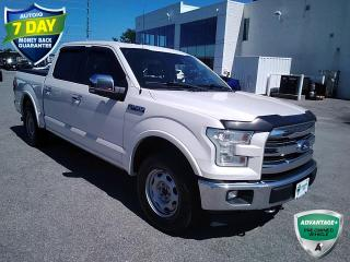 Used 2017 Ford F-150 Lariat   CLEAN CARFAX   FX4 PKG   LEATHER   HEATED SEATS   ALLOYS   for sale in Barrie, ON