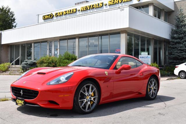 2012 Ferrari California One Owner - Canadian Car - No Accidents