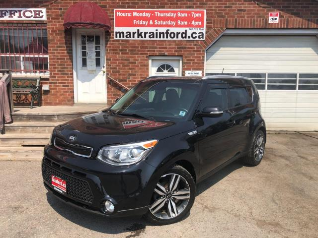 2016 Kia Soul SX Luxury Htd/CLD Lther Pano Roof Nav Rm Start Cam