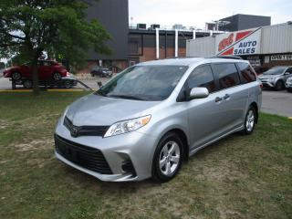 Used 2019 Toyota Sienna REAR CAM ~ LDW ~ ONE OWNER ~ ACCIDENT FREE for sale in Toronto, ON