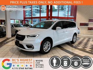 New 2021 Chrysler Pacifica Touring AWD for sale in Richmond, BC