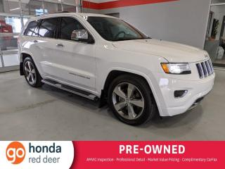 Used 2015 Jeep Grand Cherokee Overland for sale in Red Deer, AB