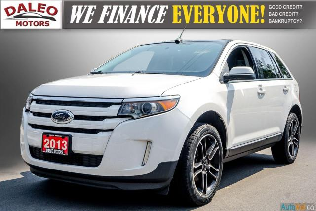 2013 Ford Edge SEL / NAVI / BAKCUP CAM / HEATED SEATS / PANOROOF Photo4