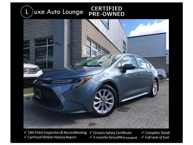 2020 Toyota Corolla LE PLUS - SUNROOF, AUTO, HEATED SEATS, LOADED!