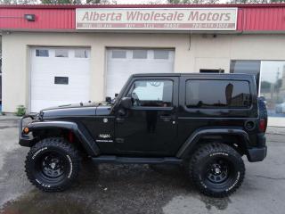 Used 2012 Jeep Wrangler Sahara 2 Door for sale in Edmonton, AB