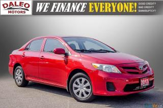 Used 2013 Toyota Corolla CE / BLUETOOTH / HEATED SEATS / TRACTION CONTROL for sale in Hamilton, ON