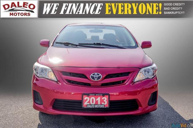 2013 Toyota Corolla CE / BLUETOOTH / HEATED SEATS / TRACTION CONTROL Photo5