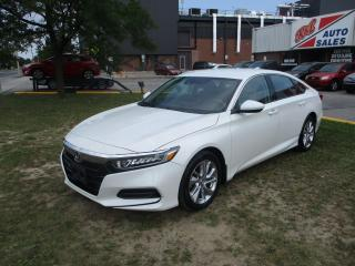 Used 2018 Honda Accord LX ~ REAR CAM ~ REMOTE START ~ BLUETOOTH for sale in Toronto, ON