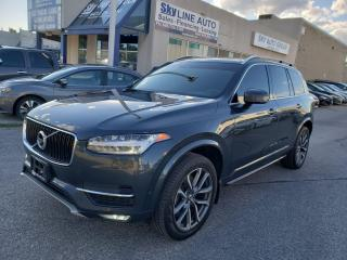 Used 2018 Volvo XC90 T6 Momentum ADAPTIVE CRUISE|LANE ASSIST|NAVIGATION|BLIND SPOT for sale in Concord, ON
