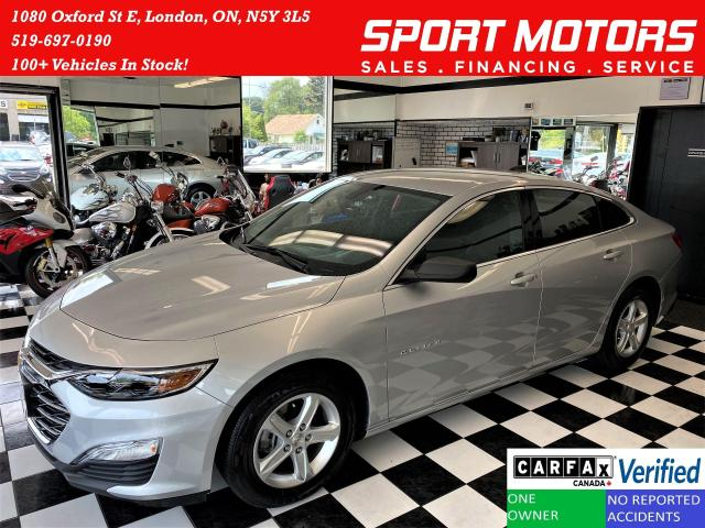 2019 Chevrolet Malibu Apple Play *ONLY 3741 KMs* LIKE NEW+CLEAN CARFAX
