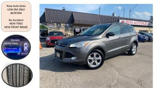 Used 2013 Ford Escape FWD 4dr SE LOW KM new tires NO ACCIDENT SAFETY for sale in Oakville, ON